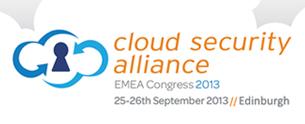 CSA EMEA Congress 2013