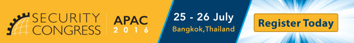 Security Congress APAC 2016 - Register Today