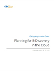 Planning for E-Discovery in the Cloud