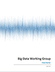 Big Data Working Group Charter