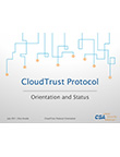 CloudTrust Protocol Information Overview