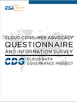 Cloud Consumer Advocacy Questionnaire and Information Survey Results (CCAQIS) v1.0