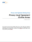 Privacy Level Agreement (PLA) Outline Annex
