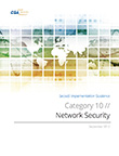 SecaaS Category 10 // Network Security Implementation Guidance
