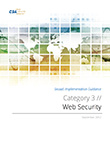 SecaaS Category 3 // Web Security Implementation Guidance