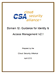 SecaaS Category 1 // Identity and Access Management Implementation Guidance