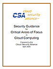 Security Guidance for Critical Areas of Focus in Cloud Computing V1.0