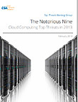The Notorious Nine: Cloud Computing Top Threats in 2013