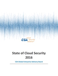 State of Cloud Security 2016