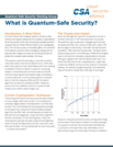 What is Quantum Safe Security