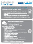 Cloud Controls Matrix v3.0.1 Info Sheet