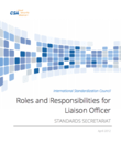 International Standardization Council Roles and Responsibilities for Liaison Officer
