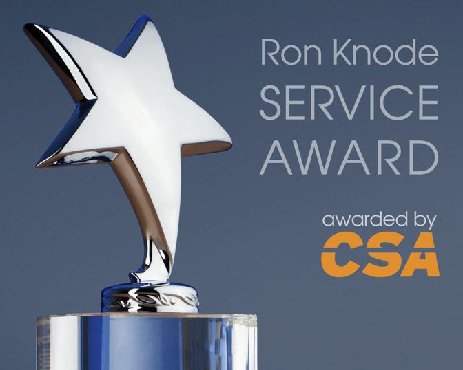 Ron Knode Service Award