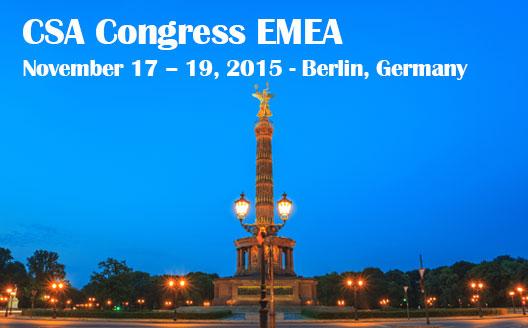 CSA EMEA-Berlin 2015